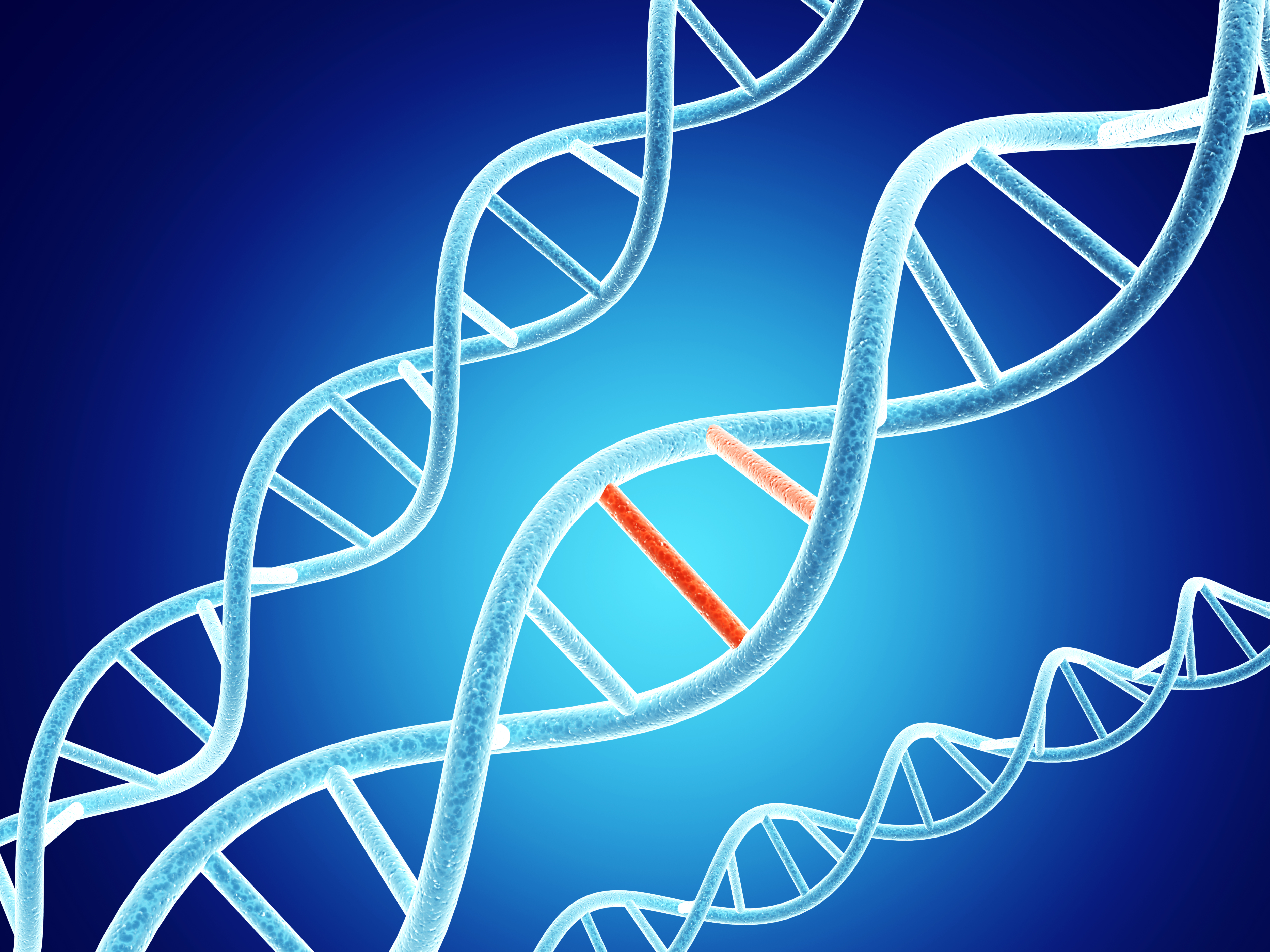 DNA structure with problem element
